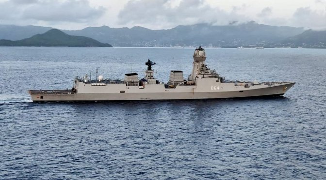 India's Strategy for the Indian Ocean in Light of COVID-19 and Confrontation with China