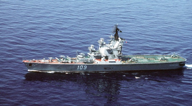 Why The Moskva-Class Helicopter Cruiser Is Not the Best Naval Design for the Drone Era