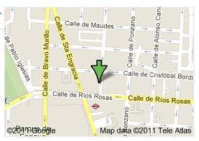 Ubicación calle Ríos Rosas 21
