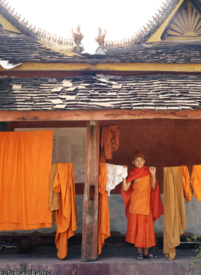 Chinese child monk