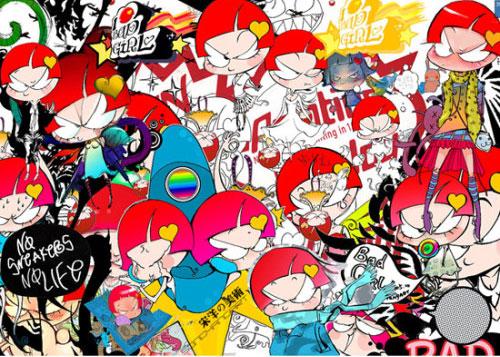 Song Yang & Bad Girl - Song Yang - graphic design