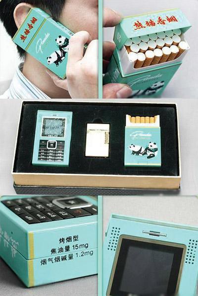 Cellulare porta sigarette