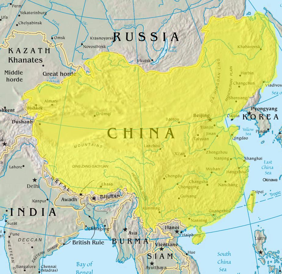dinastia Qing