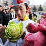 Sculture con i vegetali