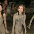 bagni di fango in Cina