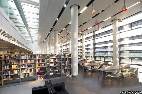 university-town-library_shenzhen_4-biblioteca dell'Università della Scienza e Tecnologia di Shenzhen