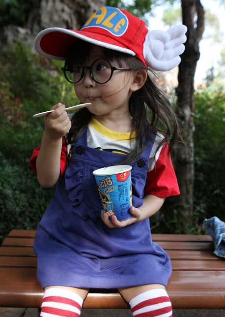 001Arale-cosplay