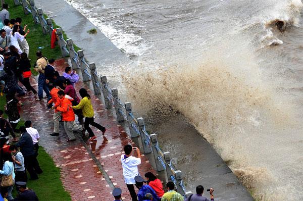 marea del Fiume Qiantang