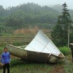 Parti della carenatura del razzo Chang'e II precipitano in due villaggi