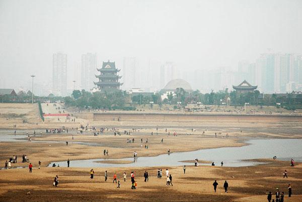 Foto di siccità in Cina