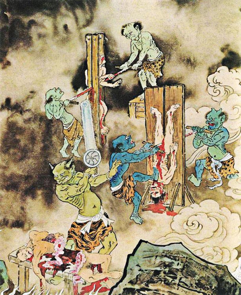 camera della sega inferno cinese