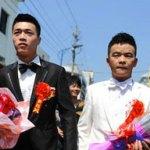 In Cina si celebra il primo matrimonio gay