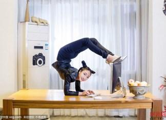 contorsionista cinese