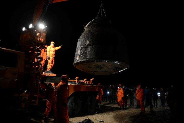 Shenzhou 11 atterraggio