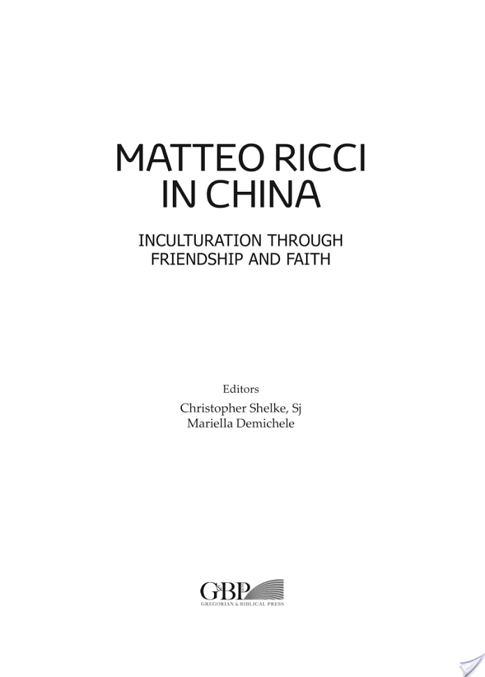 Matteo Ricci in Cina