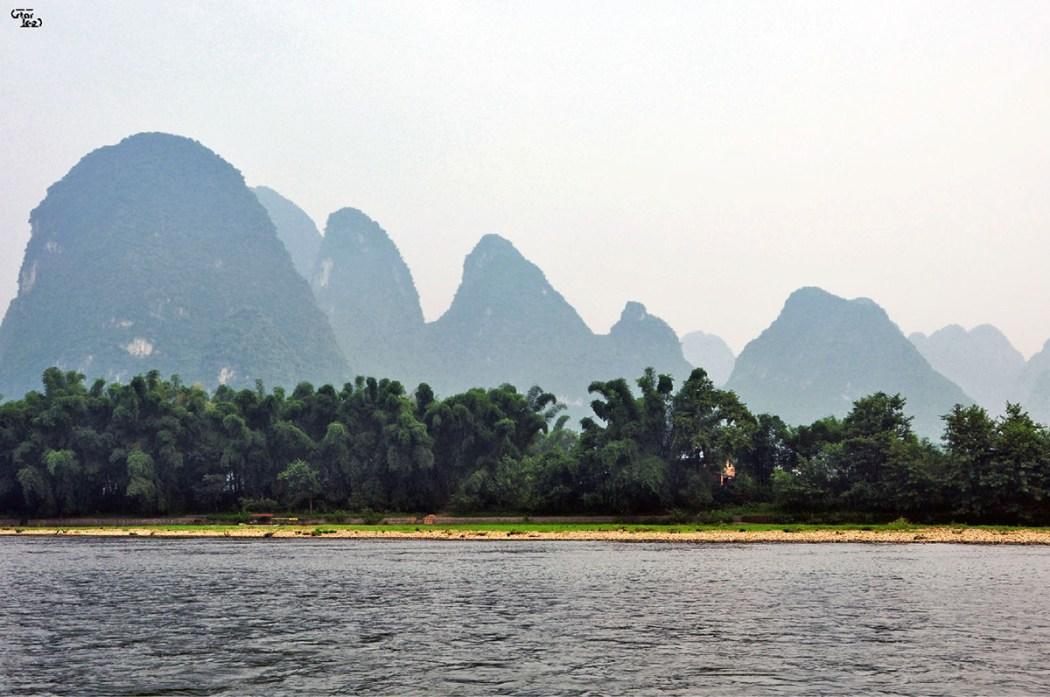 Yangshuo fiume