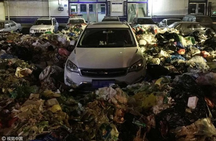 spazzatura cinese