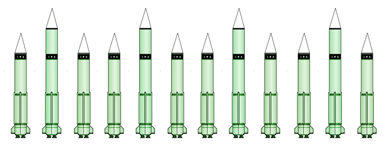 arsenale nucleare cinese-corsa al nucleare
