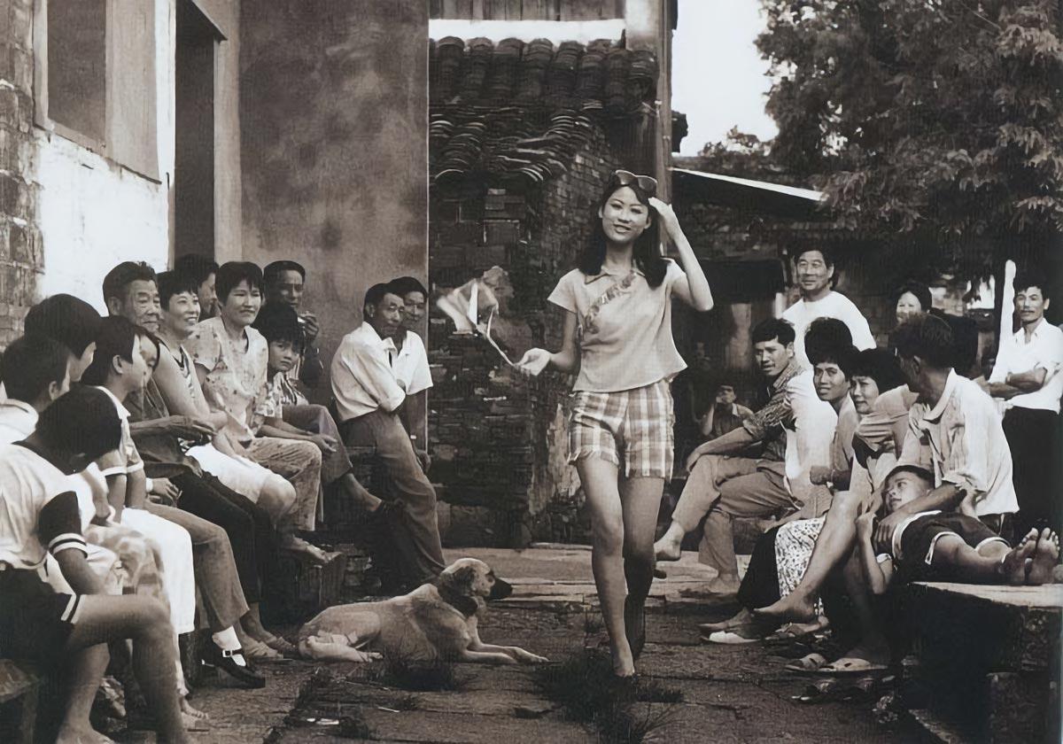 ragazza cinese-Cina anni 80