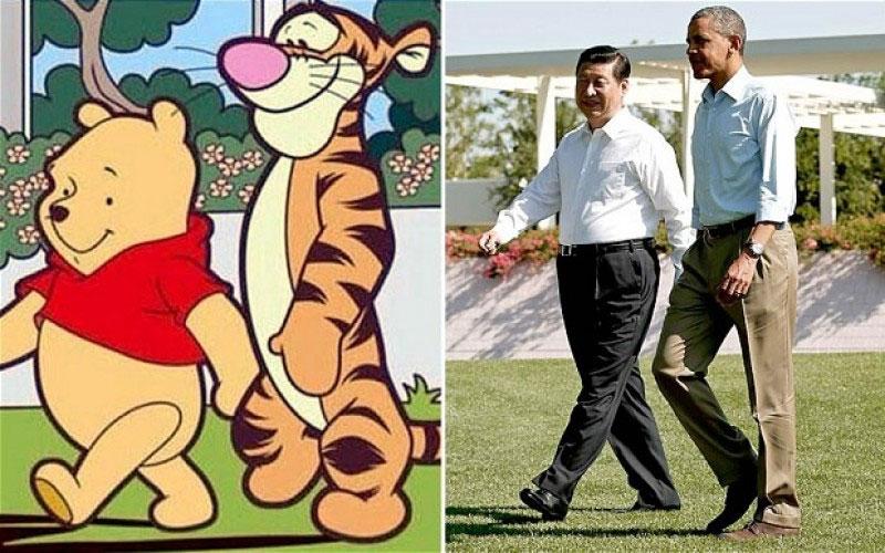 Winnie-the-pooh censurato in Cina
