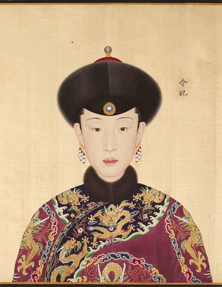 Giuseppe Castiglione-consorte-qianlong