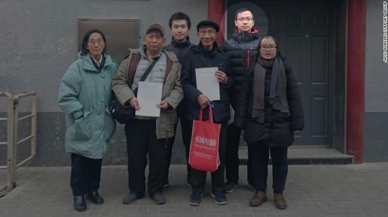 Qiu-Zhanxuan-studenti marxisti Cina