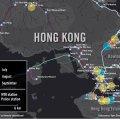 MAPPA degli arresti documentati da Amnesty International a HK