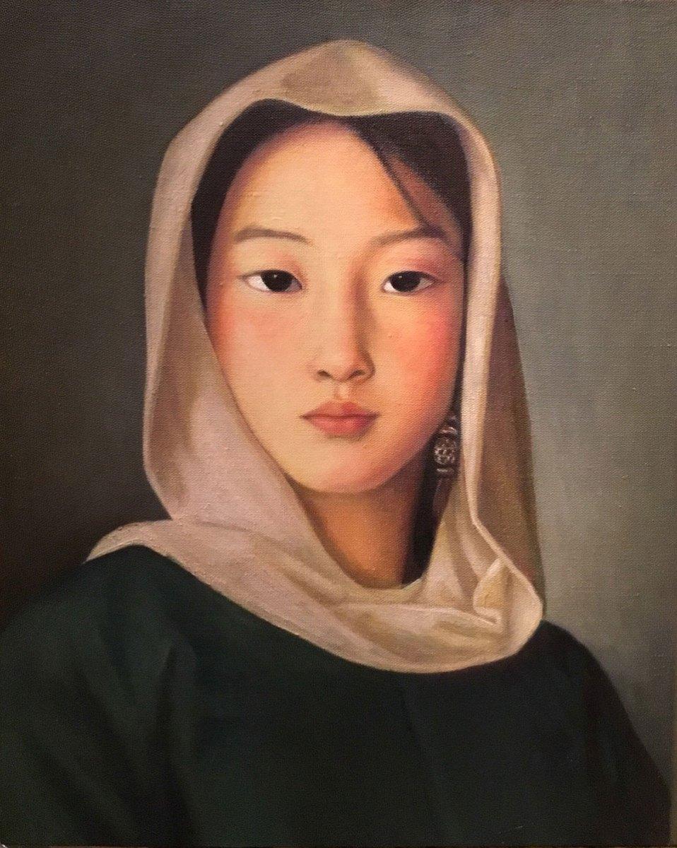 Mongolian-Girl-Series-No