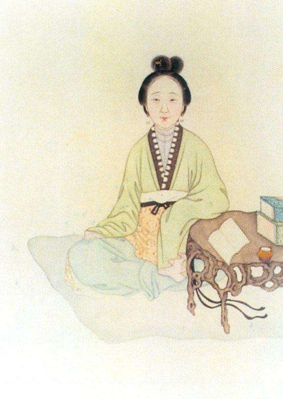 Chen-Yuanyuan cortigiane dinastia ming