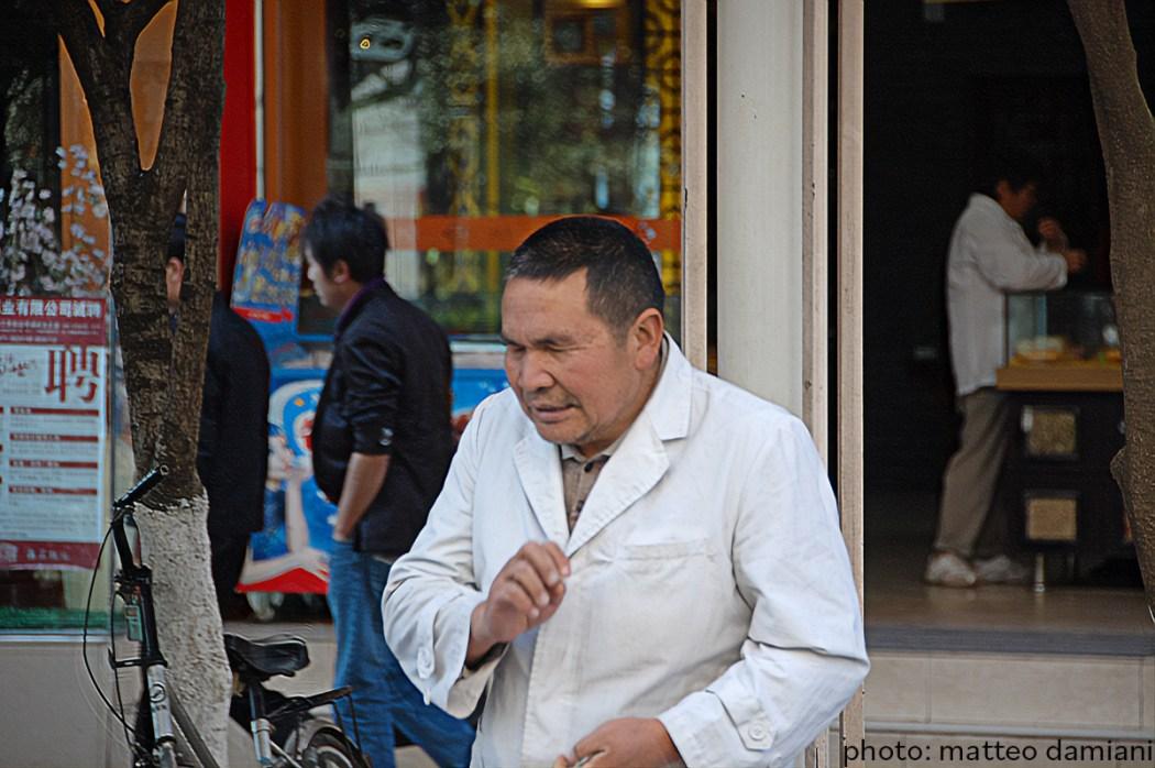 massaggiatori ciechi in Cina