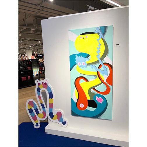Fashion Designer Mural Artist Zoie Lam 9