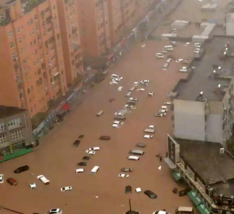 inondazioni in Cina 2021