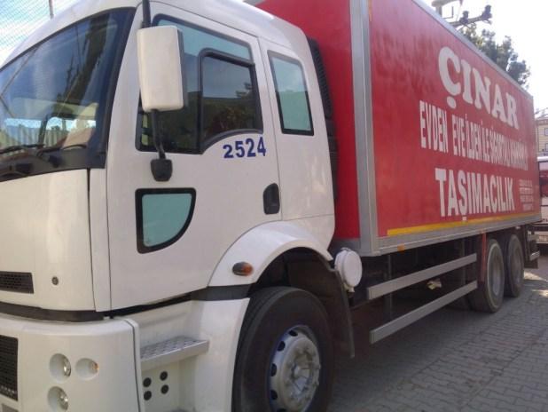osmaniye evden eve tasimacilik kamyon