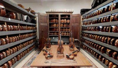 Baroque Violin Warehouse 3D Model