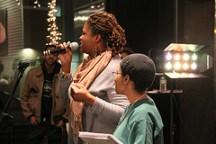 Jori Cotton and Vonceil at Elementz Urban Art Center for Open Mic night