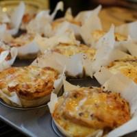 Mushroom Truffle and Cheese Brioche [recipe]