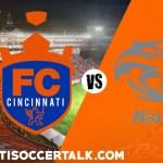 FC Cincinnati vs Pittsburgh Riverhounds – 7 Things to Know