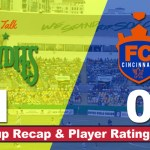 FC Cincinnati Falls 1-0 to Tampa Bay – Recap & Player Ratings