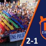 FC Cincinnati defeats the Little Reds 2-1