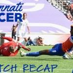 FC Cincinnati Match Recap: The Quest for the Golden Boot