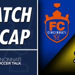 Match Report: FC Cincinnati – 1, Charleston Battery – 2