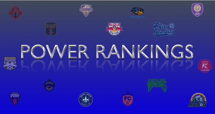 USL Eastern Conference Power Rankings