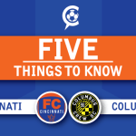 US Open Cup – FC Cincinnati vs. Columbus Crew SC: 5 Things to Know