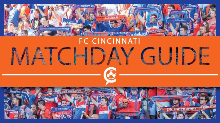 2018 FC Cincinnati Matchday Guide