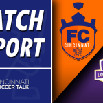 Match Report: FC Cincinnati -1, Louisville City FC – 1