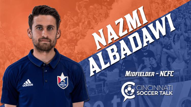 FC Cincinnati Finally Ink Midfielder Nazmi Albadawi