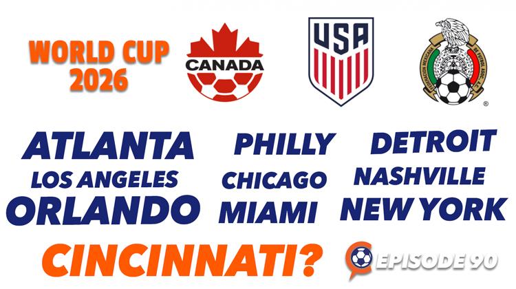 Cincinnati and World Cup 2026