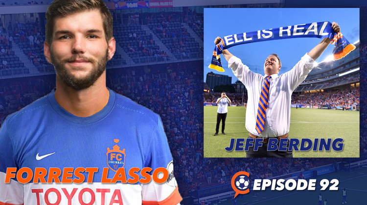 FC Cincinnati's Forrest Lasso and Jeff Berding Join Us