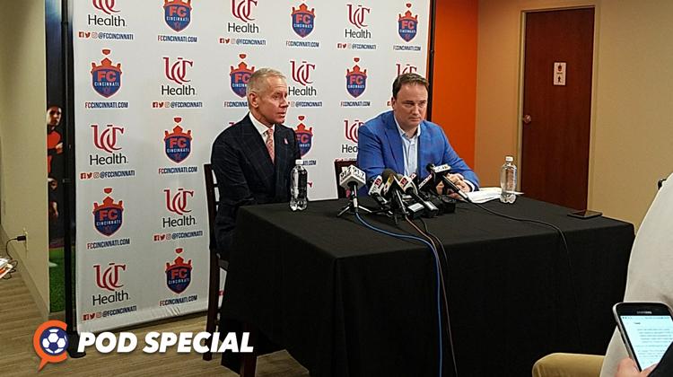 POD SPECIAL: FC Cincinnati Will Privately Finance Entire Stadium