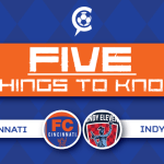 FC Cincinnati at Indy XI: 5 Things to Know – Round 2